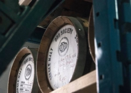 Odd Society Spirits Whiskey Barrel - Vancouver Brewery Tours
