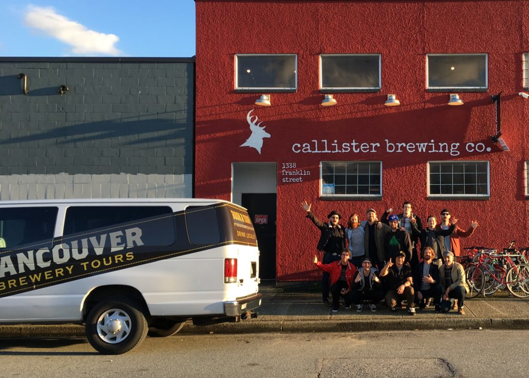 Vancouver Brewery Tours Inc. Callister Brewing Group Photo