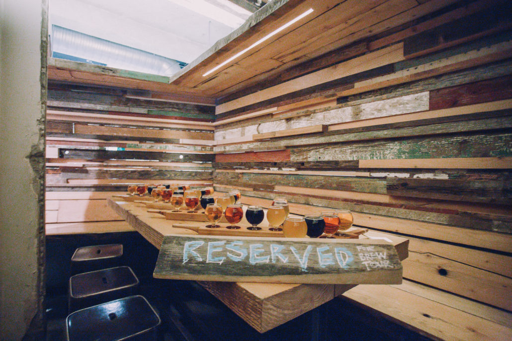 Reserved Seating at Brassneck Brewery