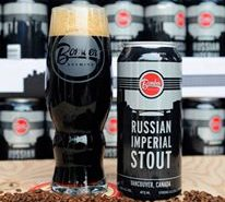 Vancouver Brewery Tours Inc. - Russian Imperial Stout at Bomber Brewing