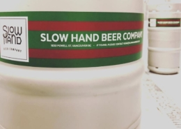 Slow Hand Beer Company Beer Keg - Vancouver Brewery Tours