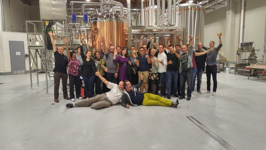 Staff Party Ideas Vancouver - Corporate Brewery Tours - Big Rock Urban