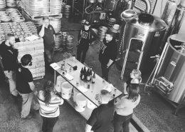 Staff Tasting at Bridge Brewing