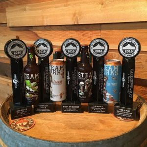 Steamworks Brewing Awards BC Beer Awards