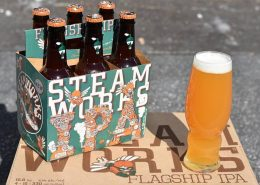 Vanouver Brewery Tours Inc. -Vancouver Brewery Tours Inc. - Steamworks Brewing Flagship IPA