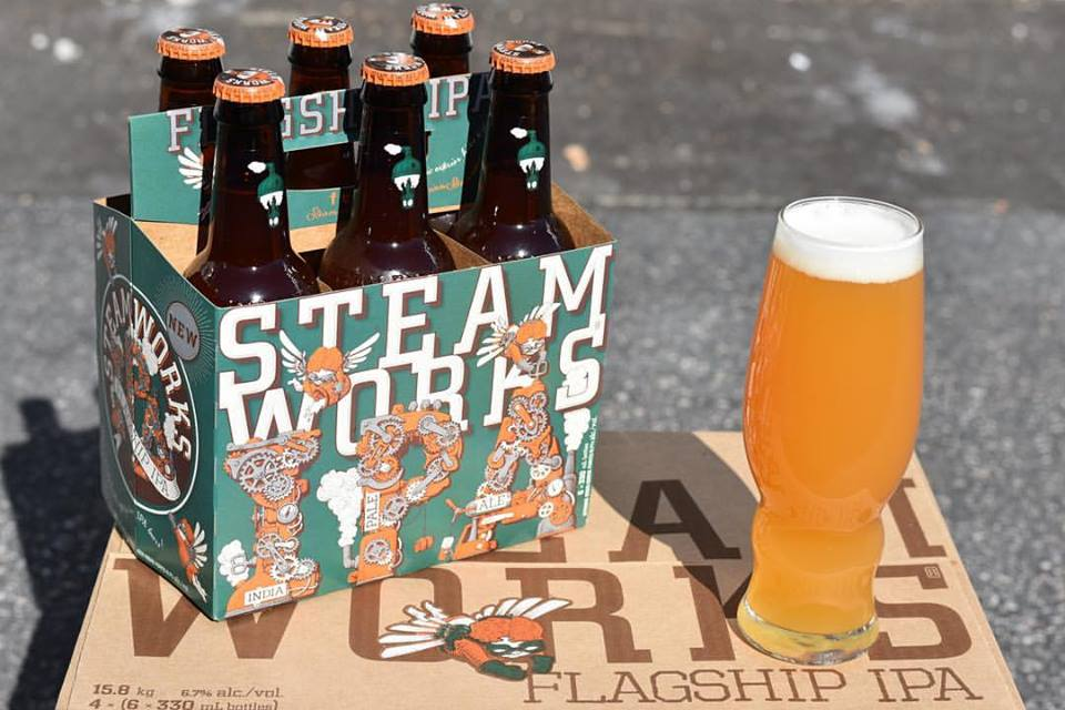 Vancouver Brewery Tours Inc. - Steamworks Brewing Flagship IPA