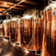 Steamworks Brewpub - Fermenation Tanks - Gastown Pub Walk