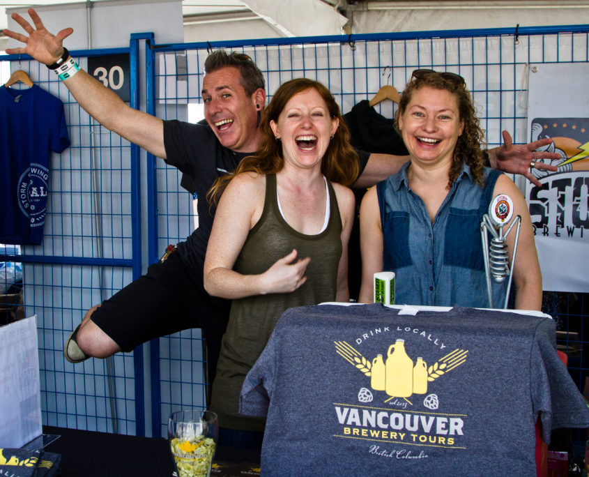 Vancouver Brewery Tours Inc- Storm Brewing