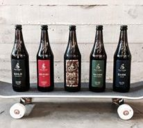 Vancouver Brewery Tours Inc. Strathcona Brewing Beers and Skateboards
