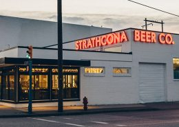 Vancouver Brewery Tours Inc. Strathcona Brewing Outside