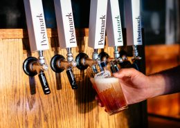 Vancouver Brewery Tours Inc -Tap Handles at Postmark Brewing