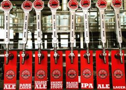 Vancouver Brewery Tour Inc - Tap Handles at Red Truck Beer