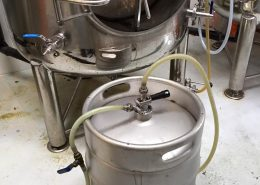 Vancouver Brewery Tours Inc. - Transferring Beer at Callister Brewing