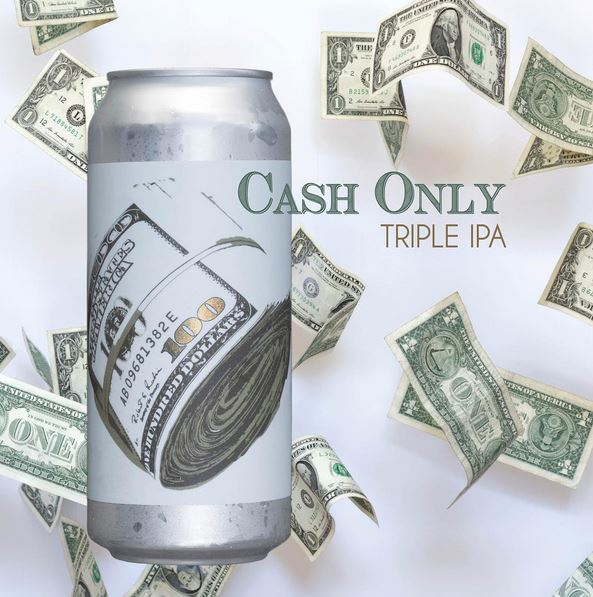 Twin Sails Brewing - Cash Only Triple IPA