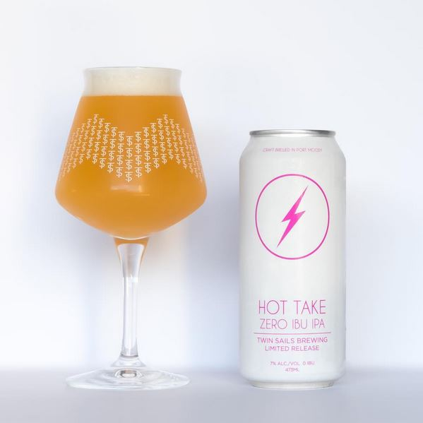 Twin Sails Brewing - Hot Take Zero IPU IPA