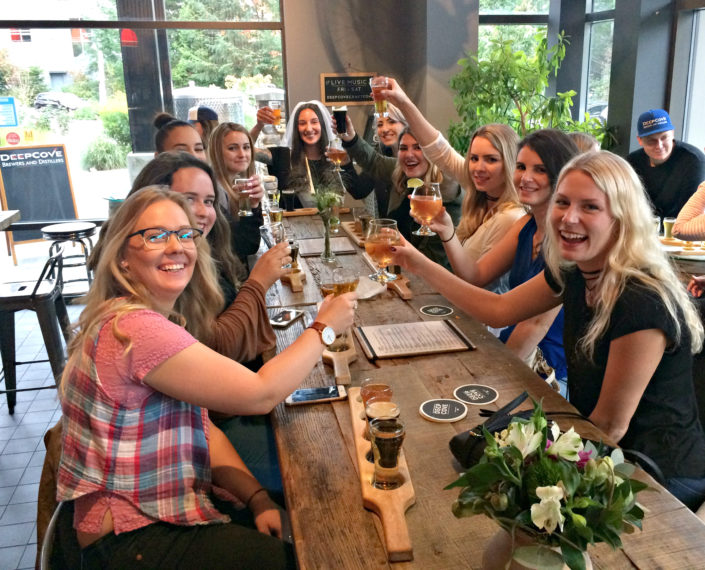 Vancouver Brewery Tours at Deep Cove Brewers and Distillers
