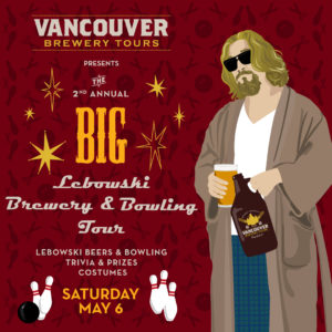 Big Lebowski Brewery and Bowling Tour