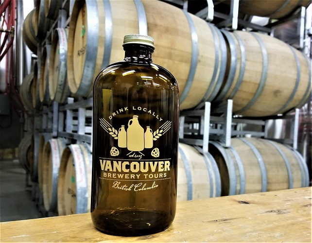 Vancouver Brewery Tours 32oz Growler - Father's Day Brewery Tour