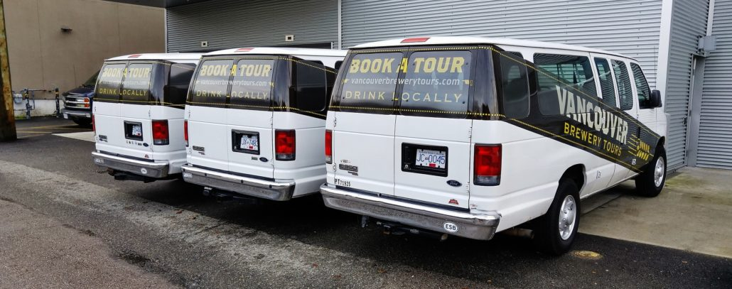 Vancouver Brewery Tours Fleet