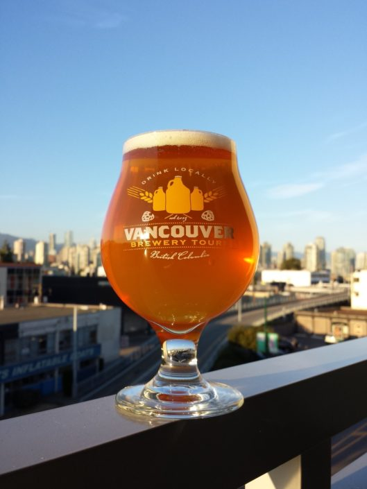 Vancouver Brewery Tours Beer Glass