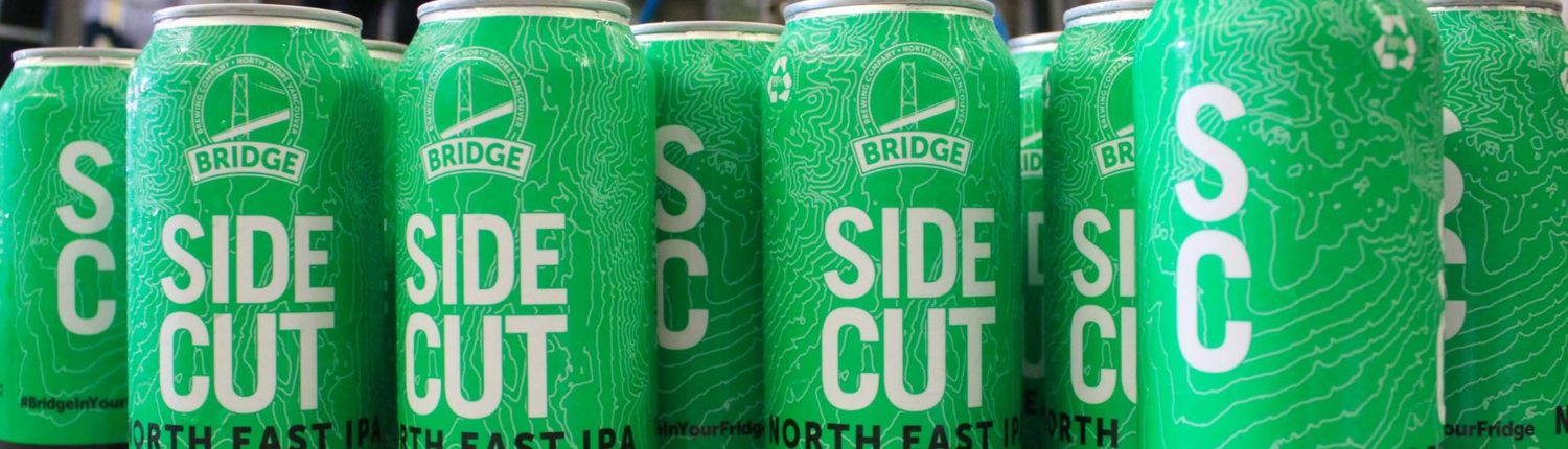 Vancouver Brewery Tours - Bridge Brewing - Side Cut