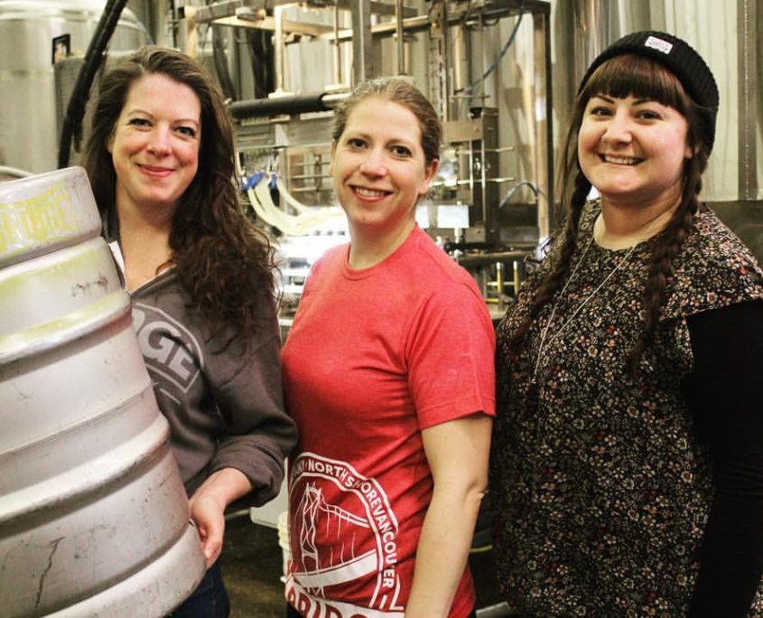 Vancouver Brewery Tours - Bridge Brewing - Women of Bridge