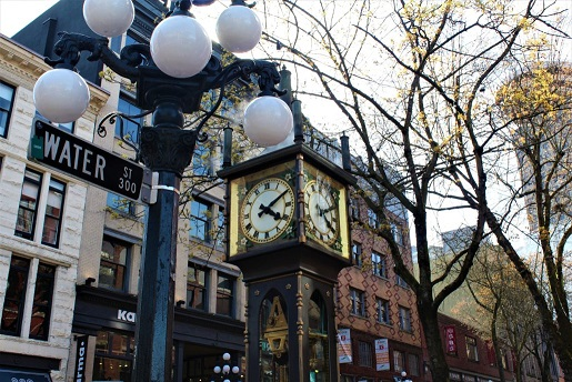 Vancouver Brewery Tours - Gastown Pub Walk at the Steamclock