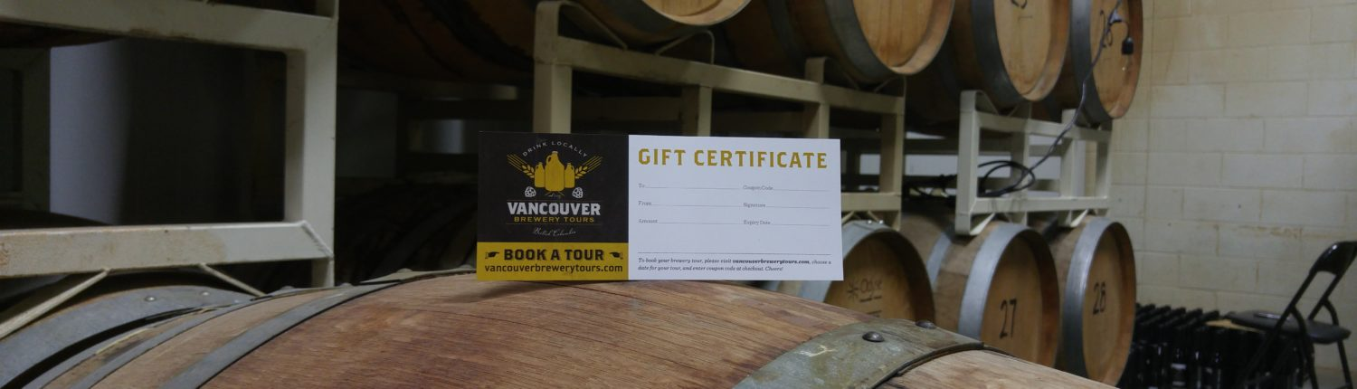 Gift the gift of a Vancouver Craft Beer Adventure