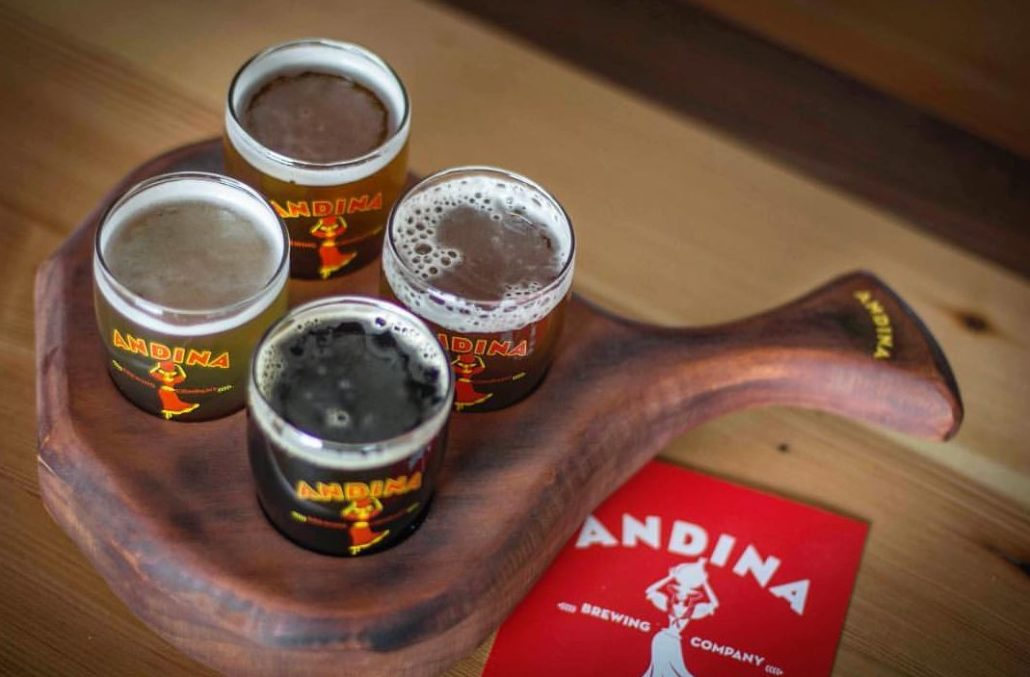 Andina brewing company just celebrated its 1 year anniversary