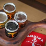Dine Out Vancouver - Vancouver Brewery Tours Inc - Andina Brewing Beer Flights