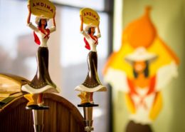 Vancouver Brewery Tours Inc - Andina Brewing Tap Handles