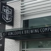 Vancouver Brewery Tours Inc - East Van Brewing Company - new signs
