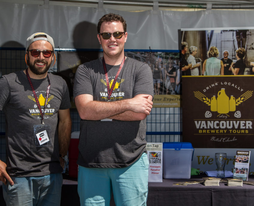 Vancouver Brewery Tours Inc- VCBW volunteers