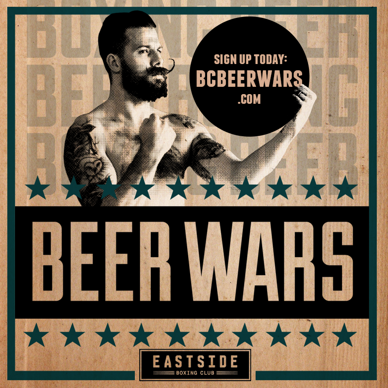 beer wars Beer wars pits workers from 30 craft breweries in vancouver, victoria against each other in boxing ring with proceeds going to dtes kids.