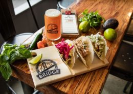 Vancouver Brewery Tours Inc. - Bridge Brewing - Tacos