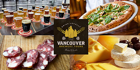 Vancouver Brewery Tours Inc. - Craft Beer and Artisan Food Tour Dine Out Vancouver