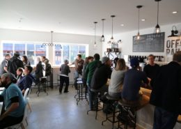 Vancouver Brewery Tours Inc. - Off the Raile Brewing - tasting room