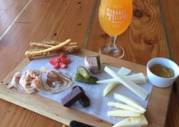 Vancouver Brewery Tours Inc. - Snacks at Strange Fellows Brewing