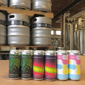 Vancouver Brewery Tours Inc. - Superflux Beer Co. - Rainbow Machine, Colour and Shape and Happyness