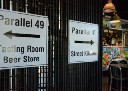 Vancouver Brewery Tours Inc. - Tasting Room at Parallel 49 Brewing Company