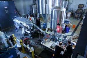 Vancouver Brewery Tours Inc. - West Coast Canning - Canning Line