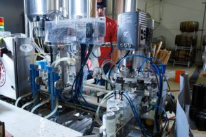 Vancouver Brewery Tours Inc. - West Coast Canning - Rolling Out the Canning Line at SF