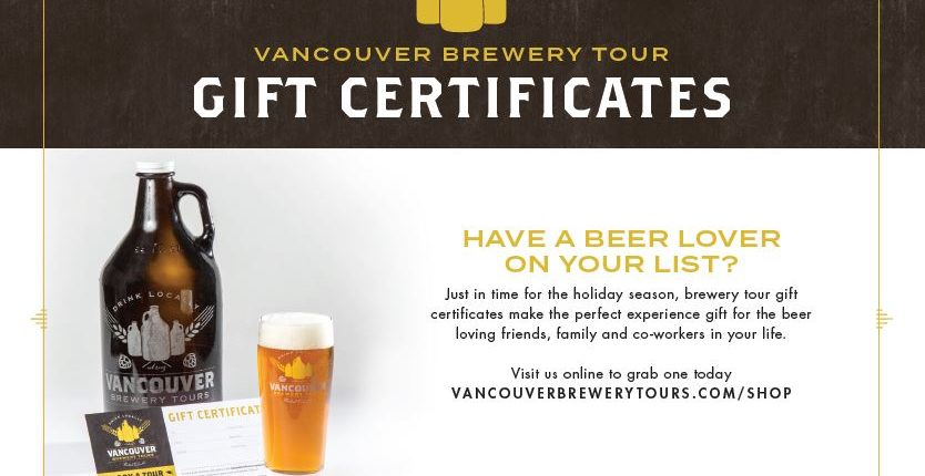Vancouver Brewery Tours Inc. - Westender