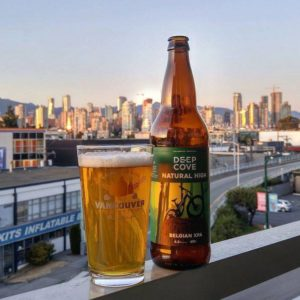 Vancouver Brewery Tours Shaker Pint