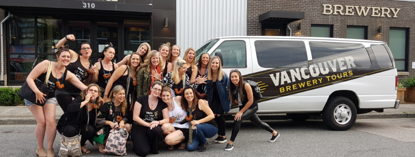 Vancouver Brewery Tours - Stagette Party at Big Rock Urban