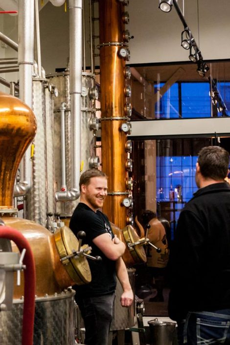 Vancouver Distillery Tour - Barrels and Behind the Scenes - Odd Society Spirits Distillery