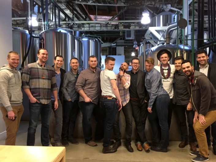 Bachelor Party Brewery Tour