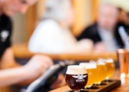 Wildeye Brewing Beer Flight - Vancouver Brewery Tours