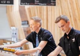Wildeye Brewing Beer Servers - Vancouver Brewery Tours