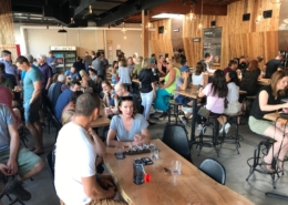 Wildeye Brewing Packed Tasting Room - Vancouver Brewery Tours